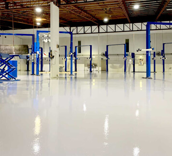 Factory and Warehouse Flooring