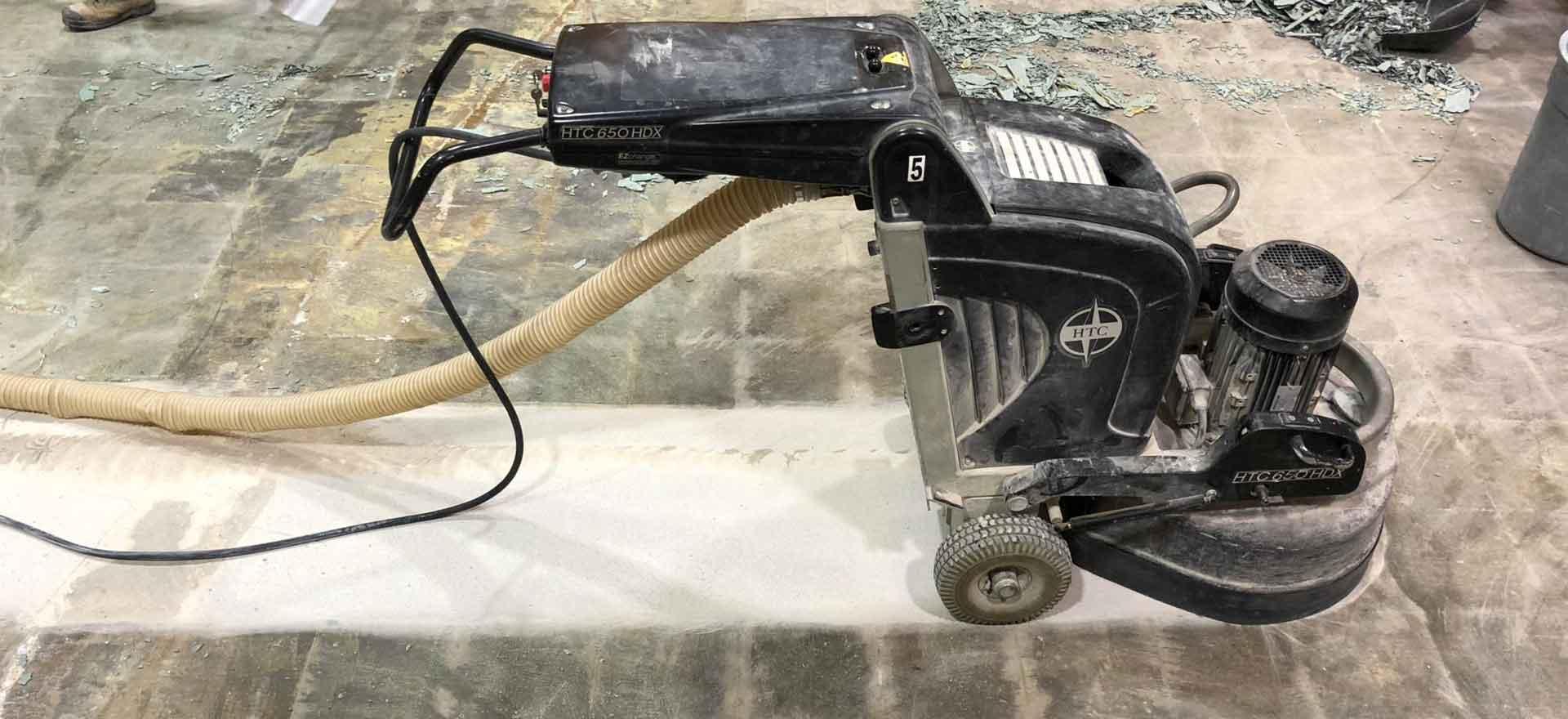 Concrete Prep Glue Grinding