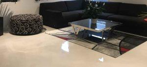 metallic epoxy floor residential